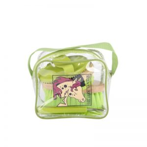 Mini-Grooming-kit-Groen-Harrys-Horse-Ruitershoponline