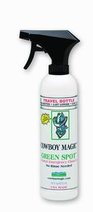 Cowboy Magic Greenspot remover.