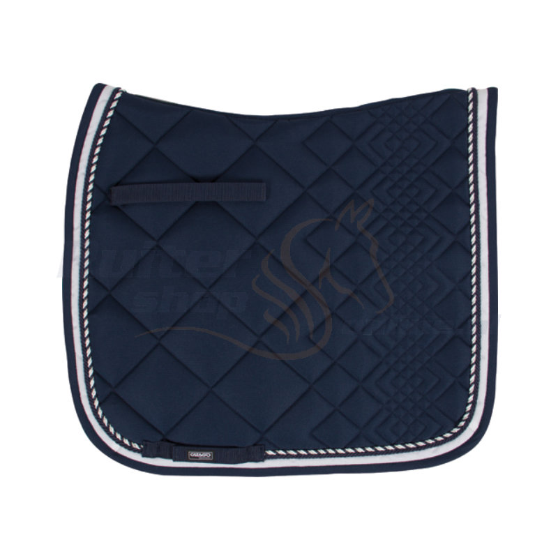 Catago Zadeldek Diamond | Navy - Wit