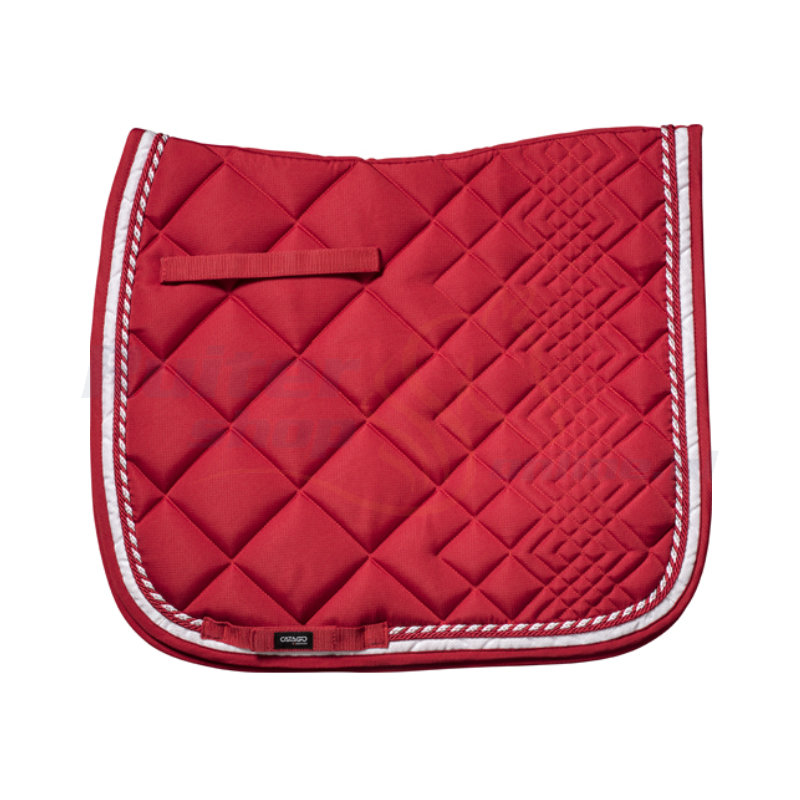 Catago Zadeldek Diamond | Rood - Wit