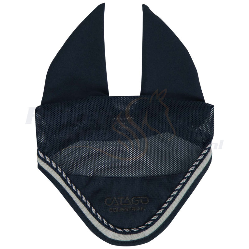 Catago Oornetje Diamond | Navy - Wit