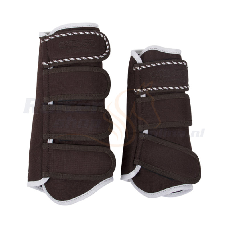 Catago Diamond Dressage Boots | Bruin-Wit