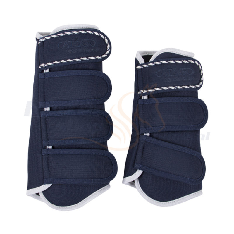 Catago Diamond Dressage Boots | Navy - Wit