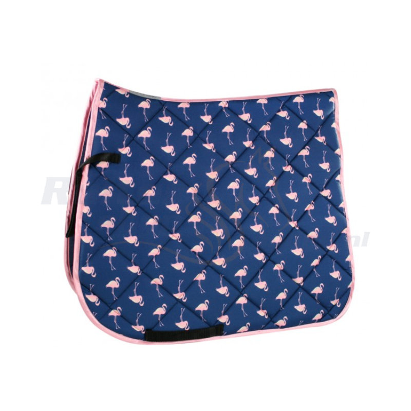EQuest Zadeldek Flamingo All-over