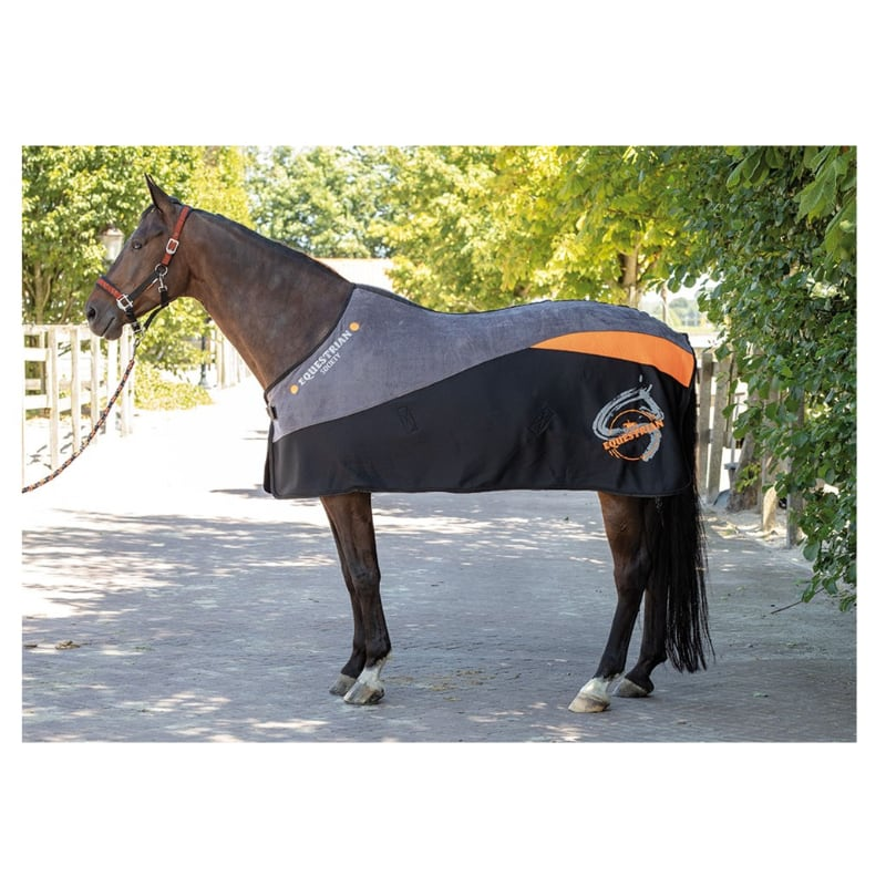 Fleecedeken Equestrian Society Orange | Harry's Horse