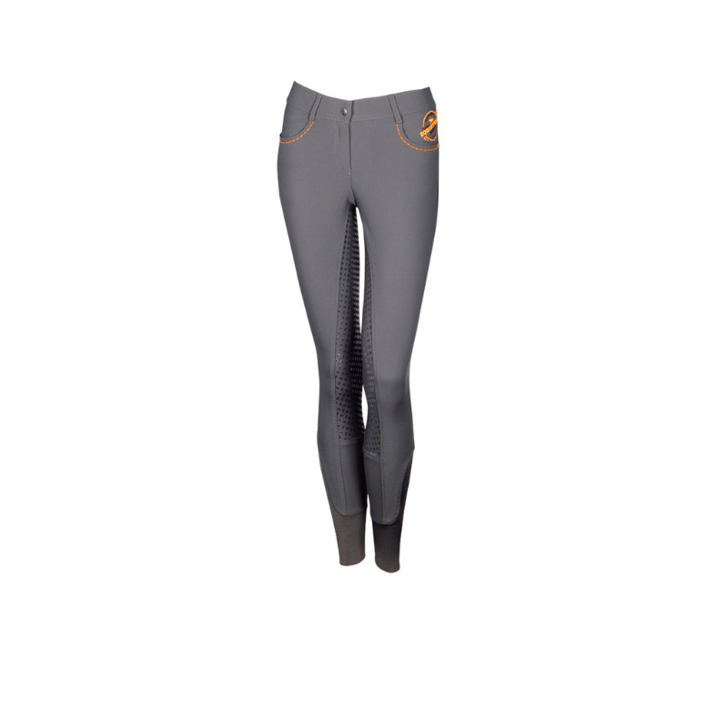 Paardrijbroek Equestrian Society Orange